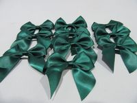 Forest dark Green Satin ribbon, 2, 10 or 25 metres, Double sided, 3mm 7mm 10mm 15mm 25mm 38mm 50mm Rolls,
